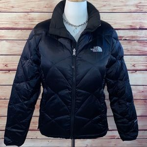 The North Face Black Aconcagua Down Puffer Coat